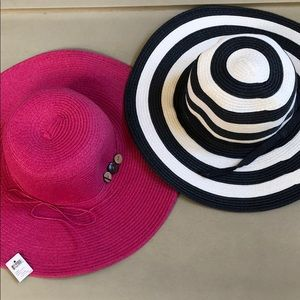 Accessories - Set of 2 Beach Hats